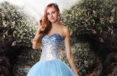 Disney Princess Prom Dresses - 'Glitterati' Released a Collection of Princess-Inspired Prom Dresses
