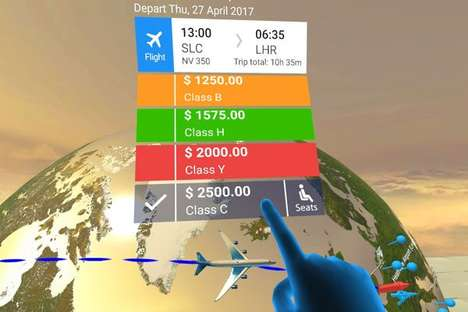 VR Travel-Booking Services