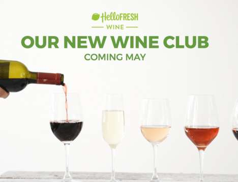 Complementary Wine Clubs - HelloFresh's Club Offers Wine and Food Pairings to Match Its Meal Kits