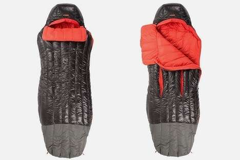Ergonomically Designed Sleeping Bags