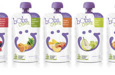 Modernized Baby Food Pouches - Bubs Organic Has Rebranded to Better Appeal to Its Target Audiences