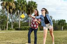 Upscale Bean Bag Games - The 'Bru-Bag' Lawn Game Can be Stored in Your Trunk to Play Anywhere