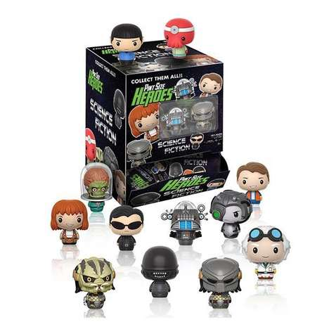Collectible Sci-Fi Film Toys - The Funky Pint Size Heroes Science Fiction Mini Figures are Geeky