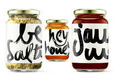 Salutational Condiment Branding - The Happycook Cooking Condiments are Friendly and Approachable