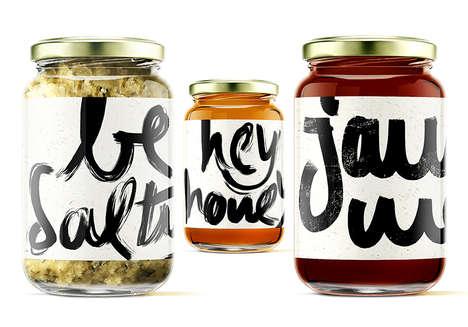 Salutational Condiment Branding
