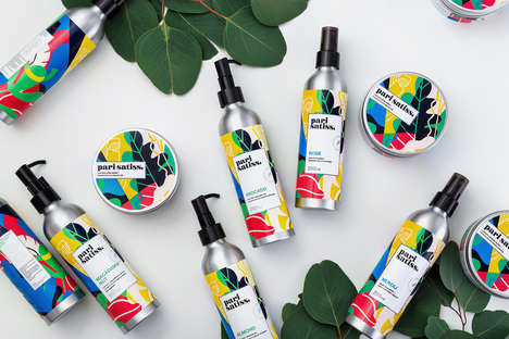 Color-Blocking Cosmetic Branding