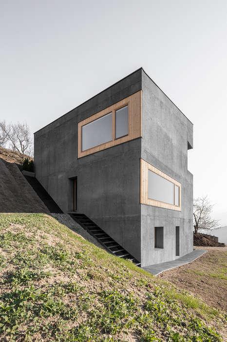Embedded Hillside Homes