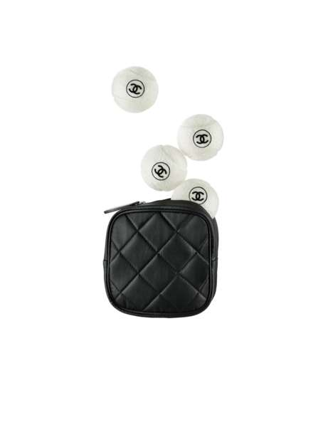 Designer Tennis Balls - The Chanel Tennis Balls are Emblazoned with the Brand's Famous Logo
