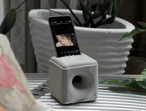 Concrete Amplification Speakers