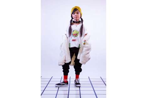 Child Artist-Designed Streetwear - 7-Year-Old Giana Joined with Haus of JR for a New Collection
