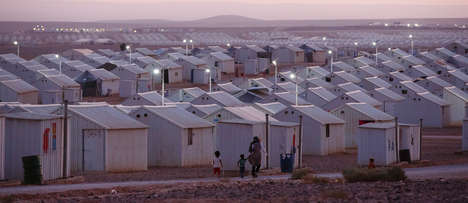Solar-Powered Refugee Camps