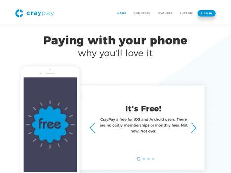 Rewarding Mobile Payment Apps - 'CrayPay' Provides Cash Back to Users with Each Purchase
