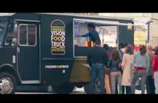 Vision-Testing Food Trucks - Nikon's 'Vision Food Truck' Offers an Enticing Reward for Eye Tests