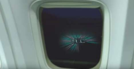 Airline Roulette Stunts - WestJet Created a Prize Wheel for Guests That Could Be Seen from the Sky