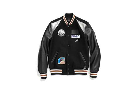Space-Themed Fashion Collections - Coach Releases a NASA Themed Collection