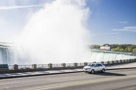 Canadian Experience SUVs - Trend Hunter Travels to Niagara to Test Drive the 2018 Chevrolet Equinox