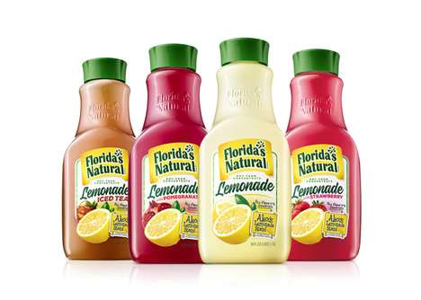 Cancer Research-Funding Lemonades - The New Florida's Natural Lemonades are Tasty and Do Good