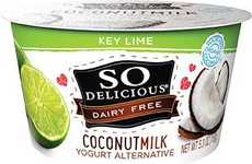 Coconut Key Lime Yogurts - So Delicious' Non-Dairy Yogurt is Made with a Base of Coconut Milk