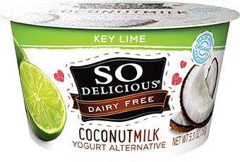 Coconut Key Lime Yogurts