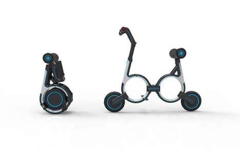 Portable Folding E-Bikes