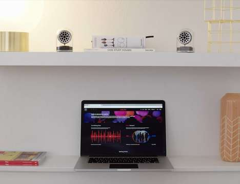 Magnetic Connecting Stereo Speakers
