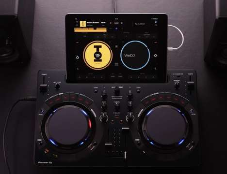 Streamlined DJ Systems - The Pioneer Compact DJ Software Controller Enables Mixing Like Never Before