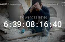 Interactive Awareness Websites - A New UNHCR Site Answers Questions About the Syrian Refugee Crisis