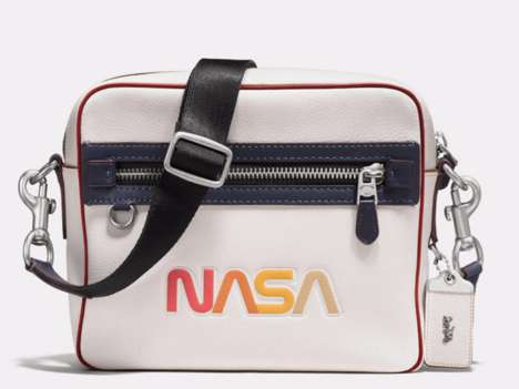 Space Agency Accessories - Coach and NASA Collaborated on Stylish Space-Themed Bags and Shoes