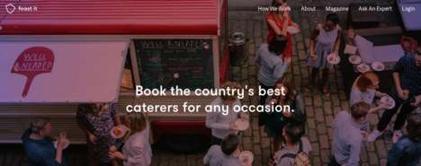 Street Food Caterers - 'Feast It' Offers Catering Based on Popular Street Food