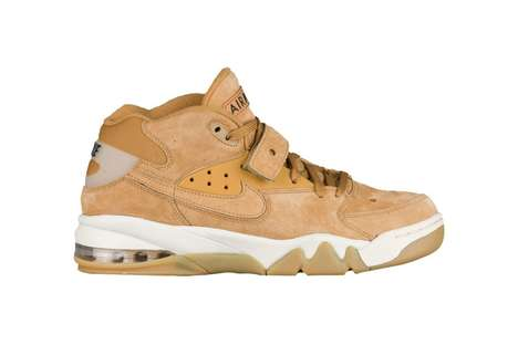 Classic Flax-Hued Sneakers - Nike Updated Its Popular Air Force Max with a Retro Beige Colorway