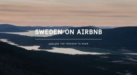 Countrywide Tourism Listings - The Entire Country of Sweden is Now Included on Airbnb
