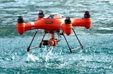 Aquatic HD Action Drones