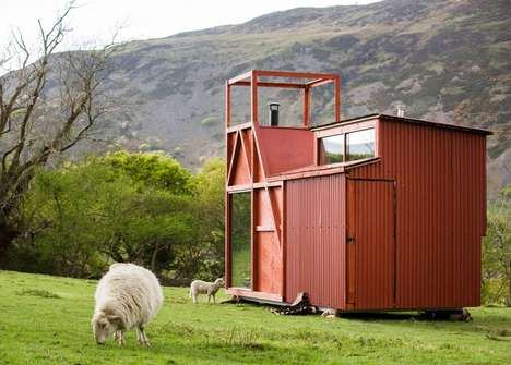 Mobile Glamping Cabins - The Eight 'Epic Retreats' Cabins are Inspired by Welsh Lore