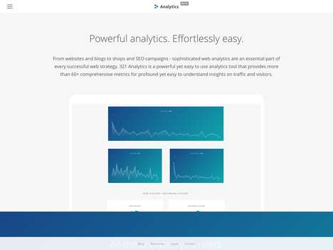 Comprehensive Web Analytics Platforms - The '321 Analytics' Tool Has Advanced Metrics for Websites