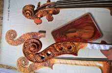 3D-Printed Historic Violins