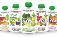 Cold-Pressed Infant Foods - The My First Savsé Baby Foods are Packed with Healthy Nutrients