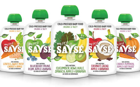 Cold-Pressed Infant Foods
