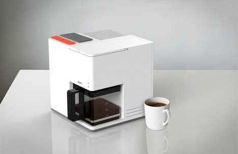 Cubic Coffee Makers - Sam Cho's 'Coffee Cube' Rethinks the Drip Coffee Maker