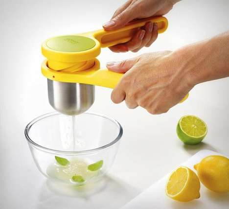 Ergonomic Food Presses - The Helix Citrus Juicer Makes Juicing Easier on Your Joints