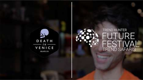 Flavor-Bending Gelato Shops - Kaya Ogruce Provides a Sneak Peek at the Death in Venice Trend Safari