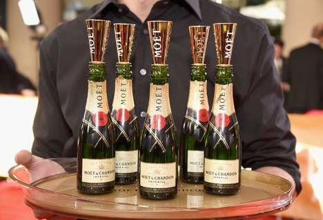 Champagne Six-Packs - Moet & Chandon Released Mini-Bottles of Champagne in Multi-Packs