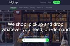 Freestyle Food Courier Services - 'Quiqup' Lets Users Order Food Delivery from Anywhere They Want
