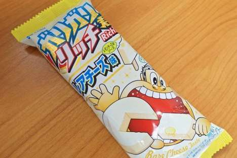 Cheese-Flavored Popsicles - Akagi Nyugyo is Now Making Frozen Desserts That Taste Like Cream Cheese