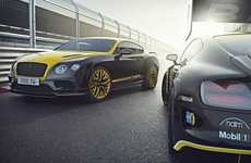 Endurance Race-Inspired Luxury Cars - The Bentley Continental 24 Honors the 24 Hours Nurburgring