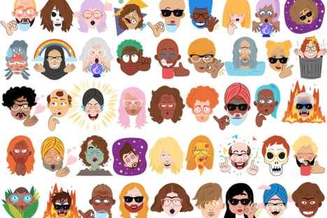 Personalized Emoji Stickers