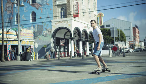 AI-Powered Skateboards - The 'Xtnd Board' Uses AI to Adapt to Your Riding Style