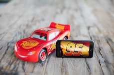 App-Enabled Cartoon Cars - The Ultimate Lighting McQueen Toy is Reactive and Intuitive in Design