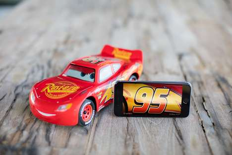 The Ultimate Lighting McQueen Toy is Reactive and Intuitive in Design
