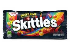 Sweet-and-Spicy Candies - Wrigley's is Releasing a New Line of Spicy Skittles