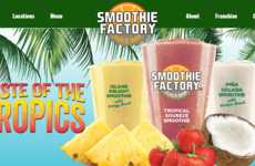 All-Natural QSR Juices - Smoothie Factory is Rolling Out 12 Juices to Appeal to the Health-Conscious